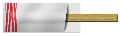中国産の割箸
